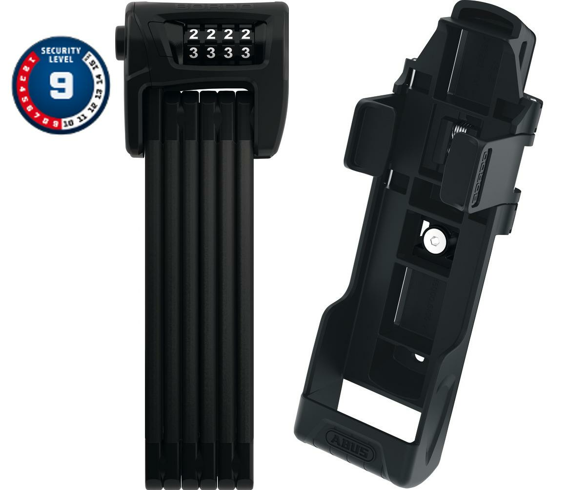 Abus Bordo Combo™  6100/90 Faltschloss mit SH-Halter