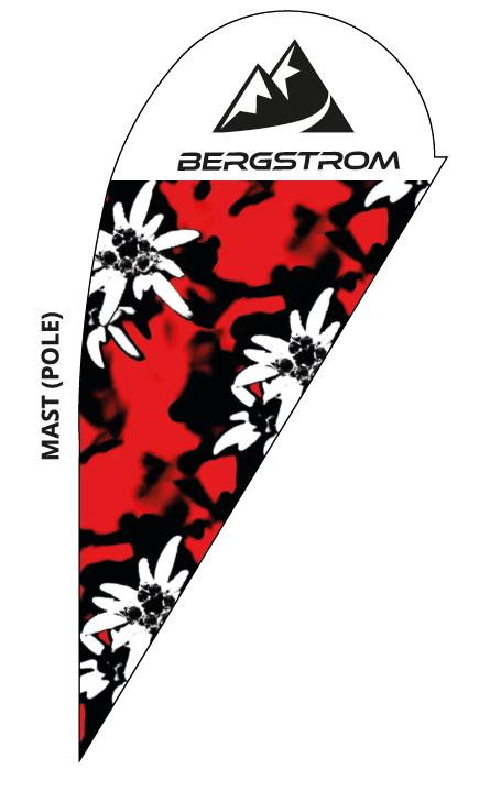Bergstrom Fahnen Set, klein