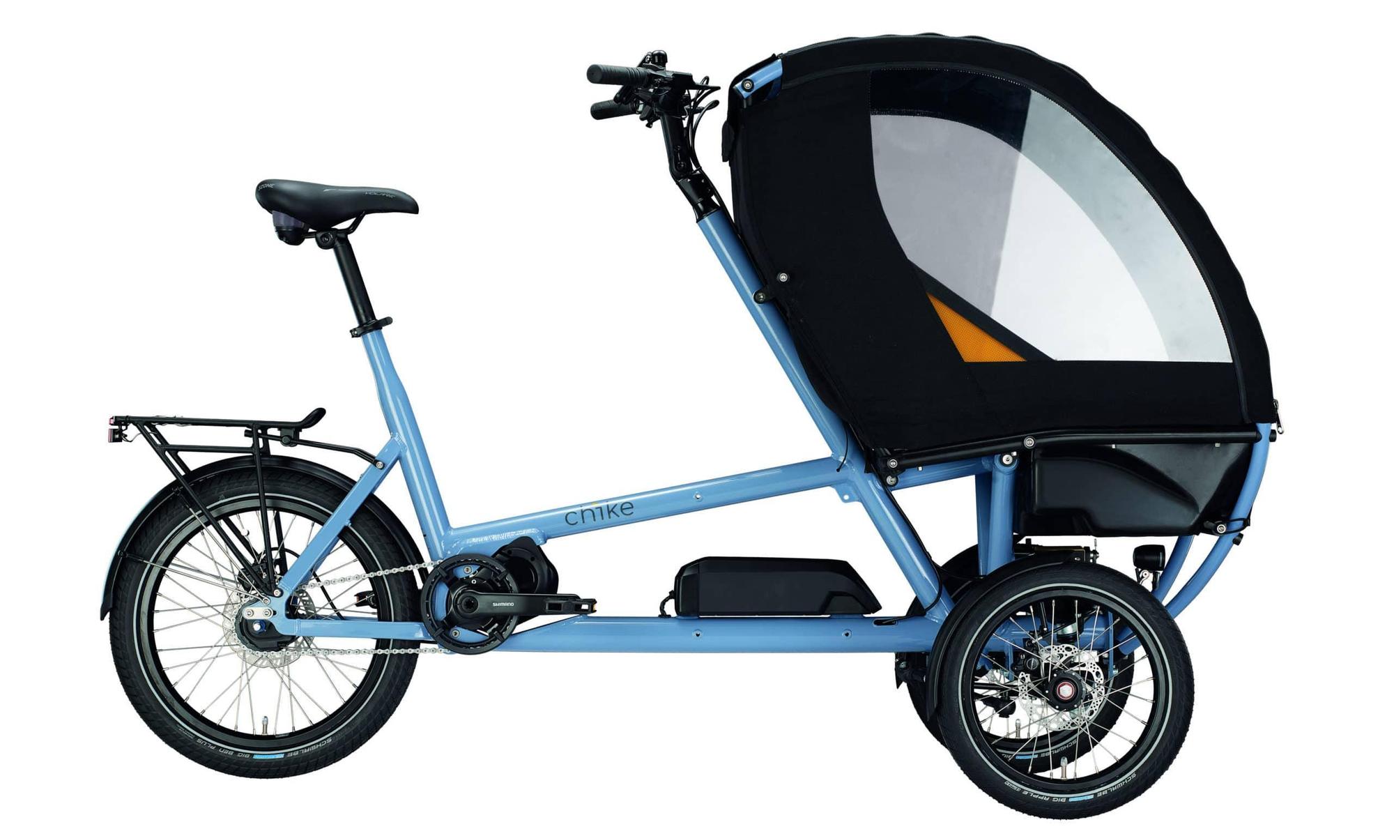 Chike E-Kids Transportvelo (ohne Polsterset)