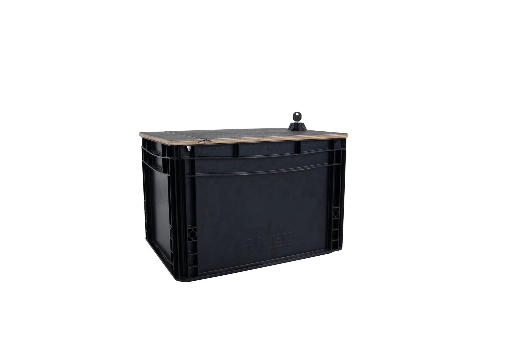 Chike Transportboxen mit Deckel (Euroboxen-Set)