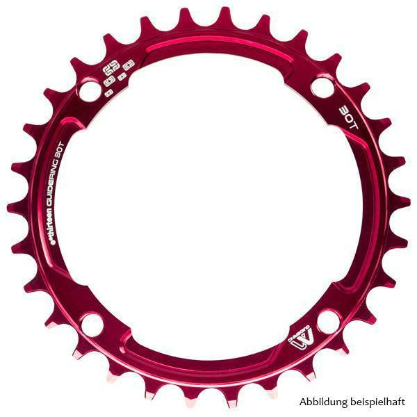 e*thirteen Guidering 104mm M Profile Red