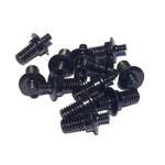 e*thirteen Ersatz Pedal-Pins 4 mm Schwarz für LG1+