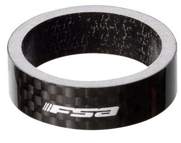 """FSA Carbon-Spacer 10mm 1-1/8"""", schwarz"""