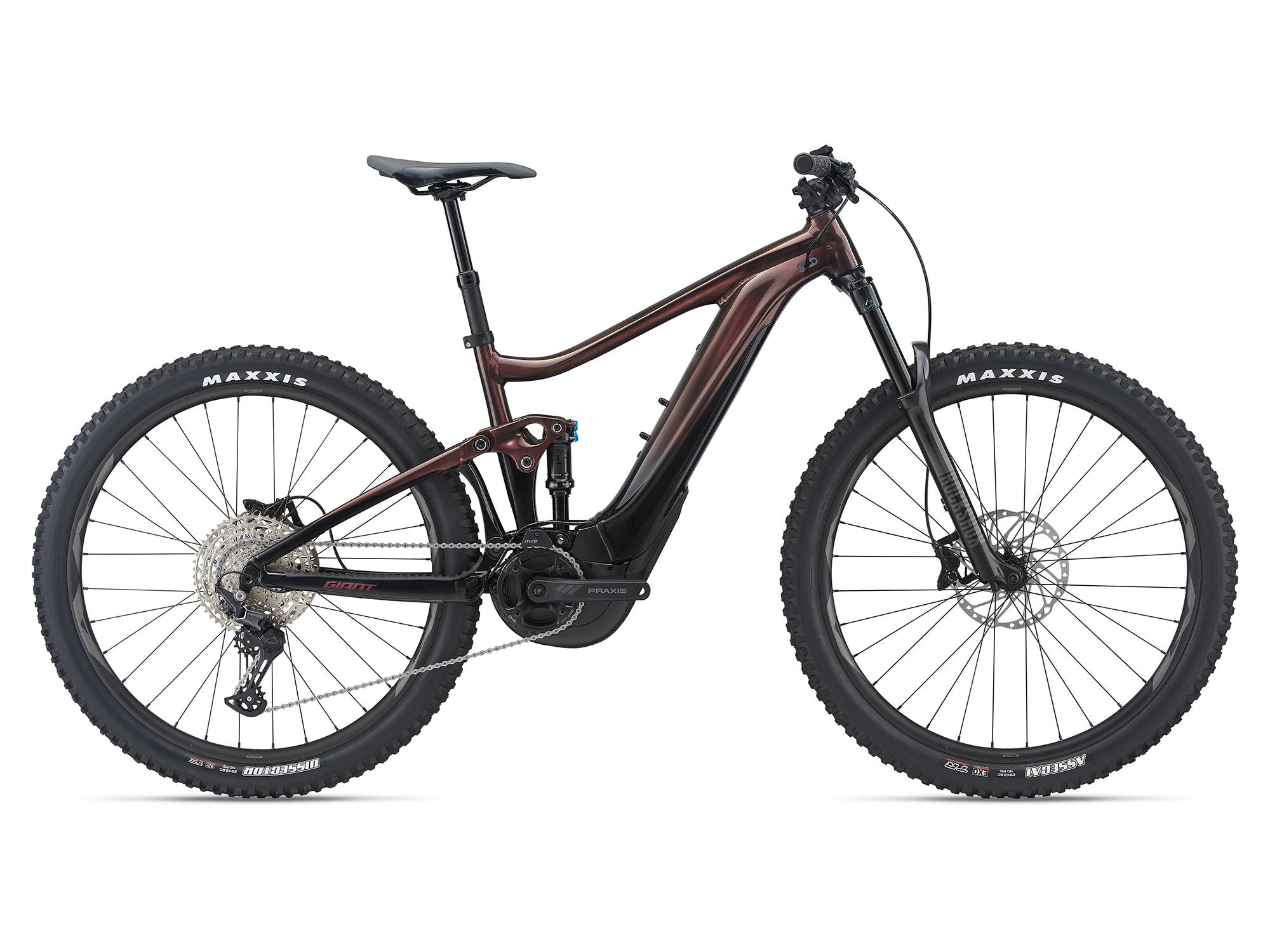 Giant E-Fullsuspension-Bikes