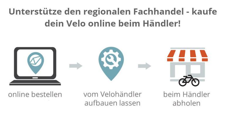 Velokauf online und regional