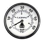 Lezyne Manometer 60 PSI 2.5 Gauge