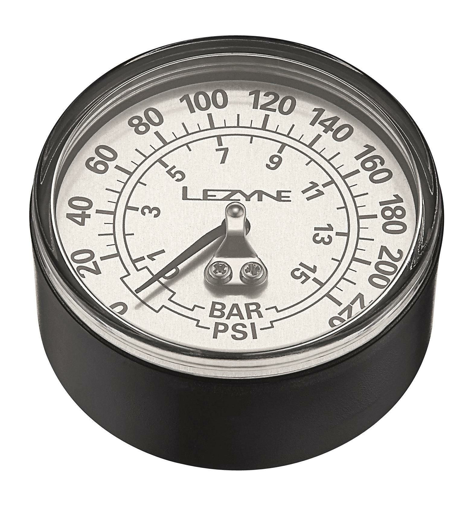 Lezyne Manometer 220 PSI 2.5 Gauge