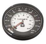Lezyne Manometer 220 PSI 3.5 Gauge