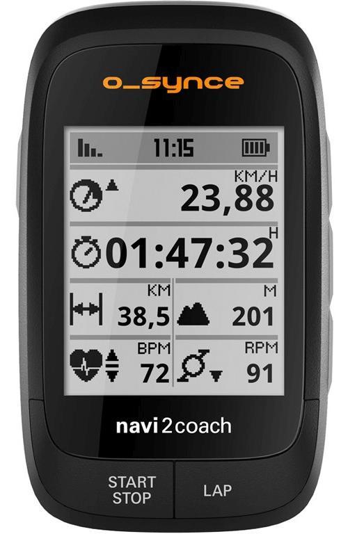 O-Synce Fahrradnavigation Navi2Coach