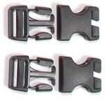 Ortlieb Schnallen für Rack-Pack, 2 Sets