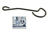 Pletscher Rasterfeder für Systemgepäckträger silber