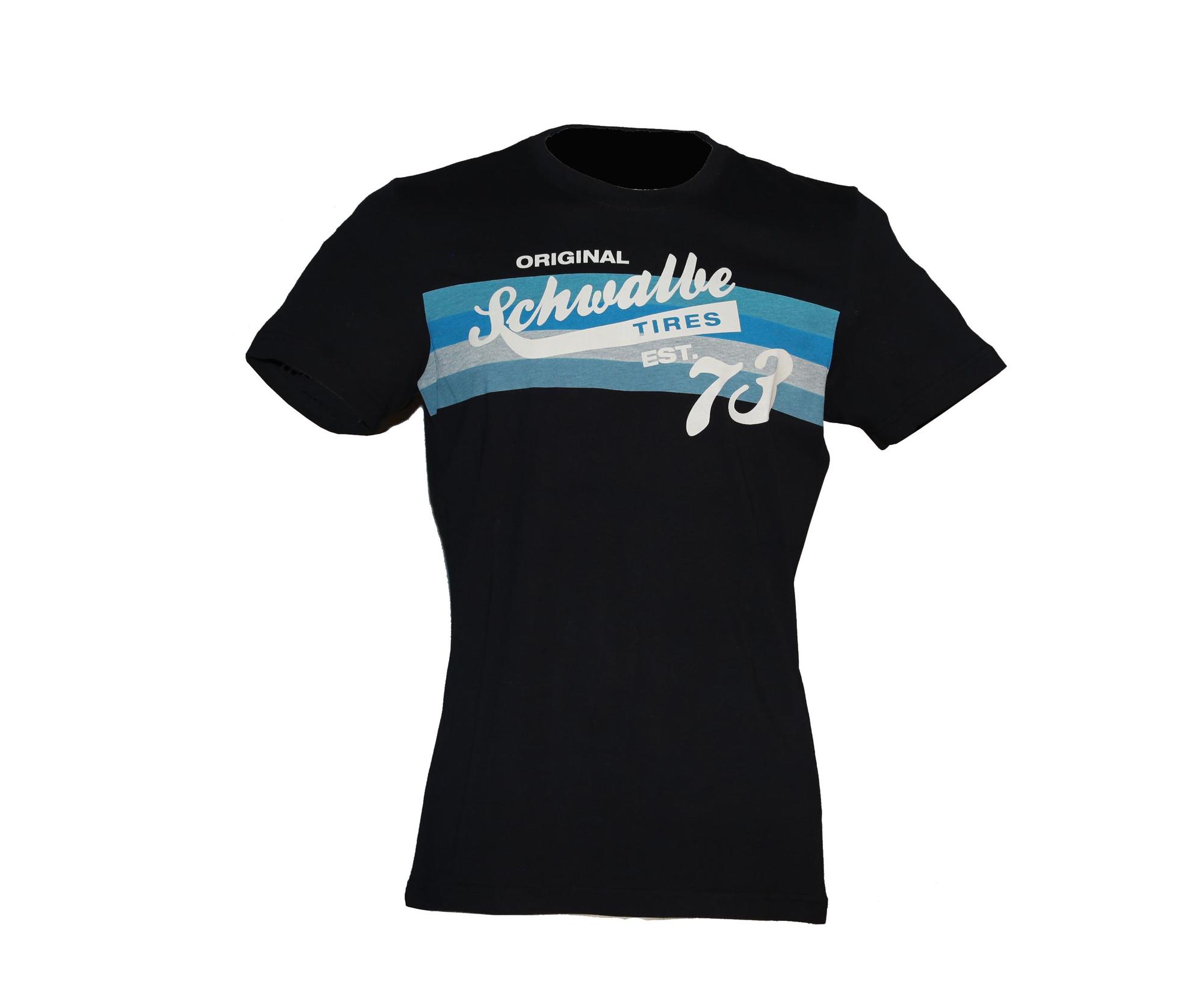 Schwalbe Herren T-Shirt dunkelblau