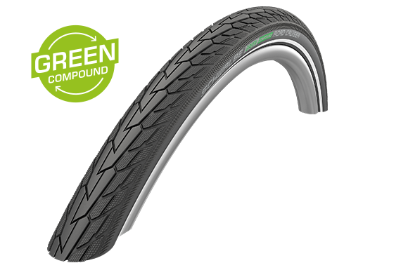 Schwalbe Road Cruiser 26x1.75 GreenCompound Drahtreifen