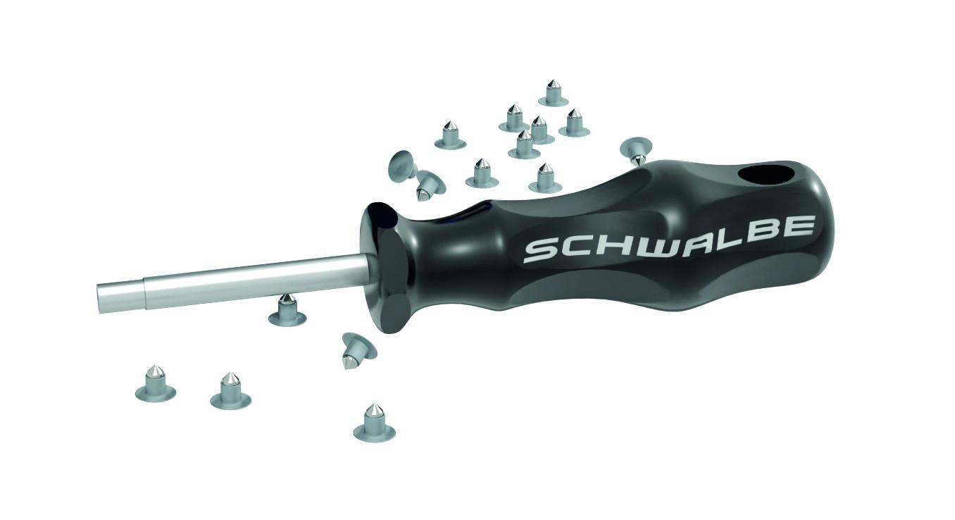 Schwalbe Ersatzspikes Stahl inkl. Einsatzwerkzeug