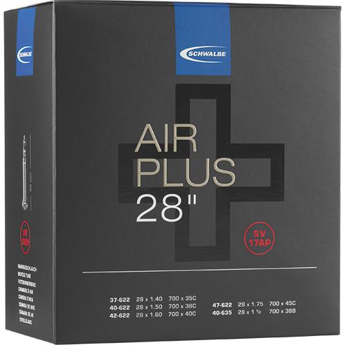 Schwalbe Air Plus Fahrradschlauch 28 Zoll