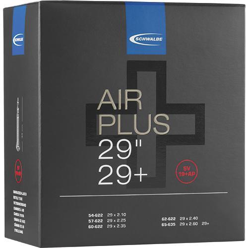 Schwalbe Air plus Fahrradschlauch 29/29+ Zoll