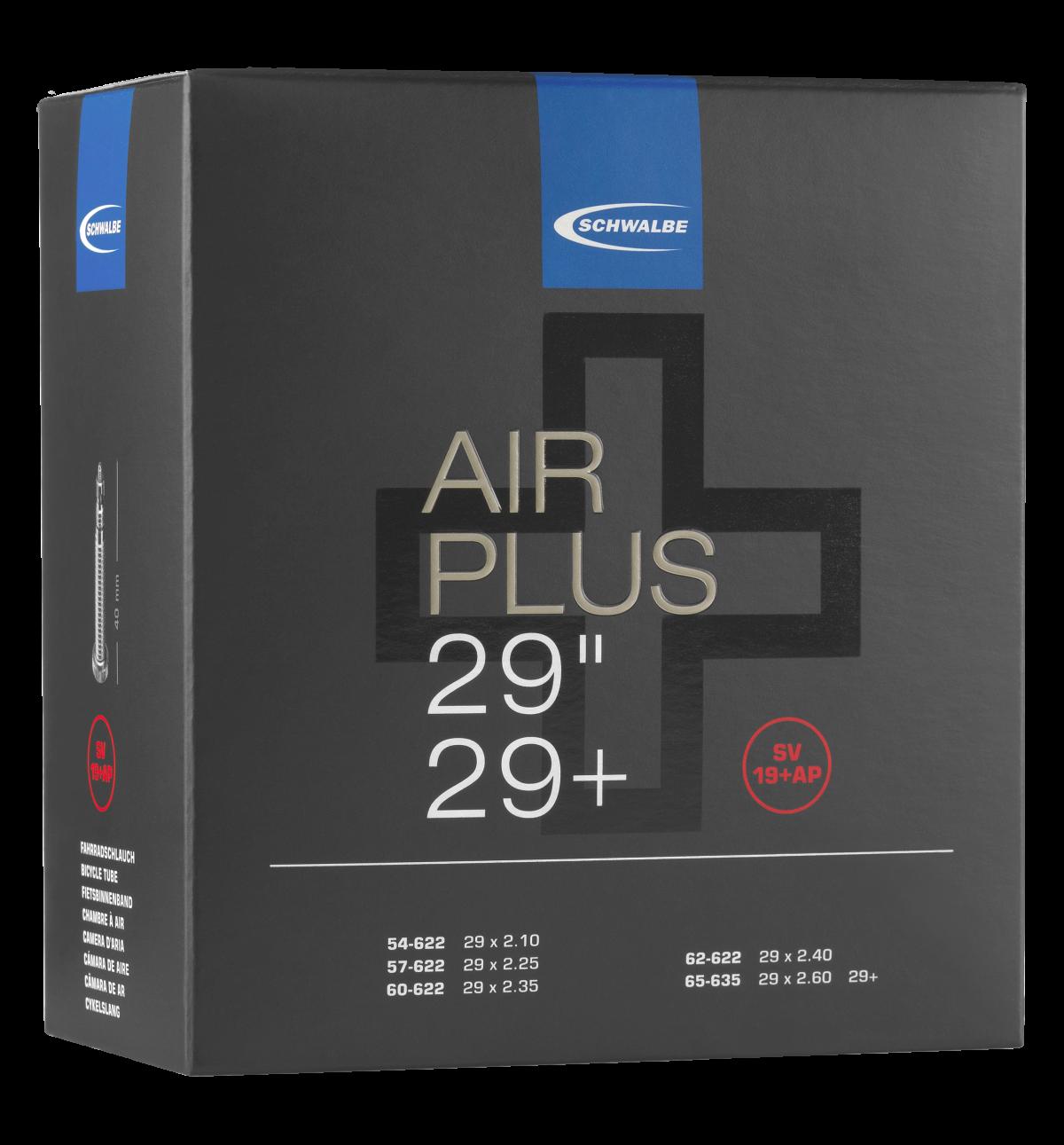 "Schwalbe Air Plus Schlauch 29""/29+ No. 19+AP (SV19+AP, AV19+AP)"