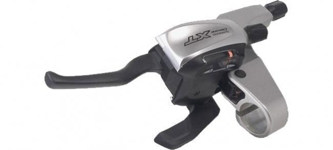 Shimano Schalt-Bremshebelset Deore XT Dual-Control STM761 3/9-fach