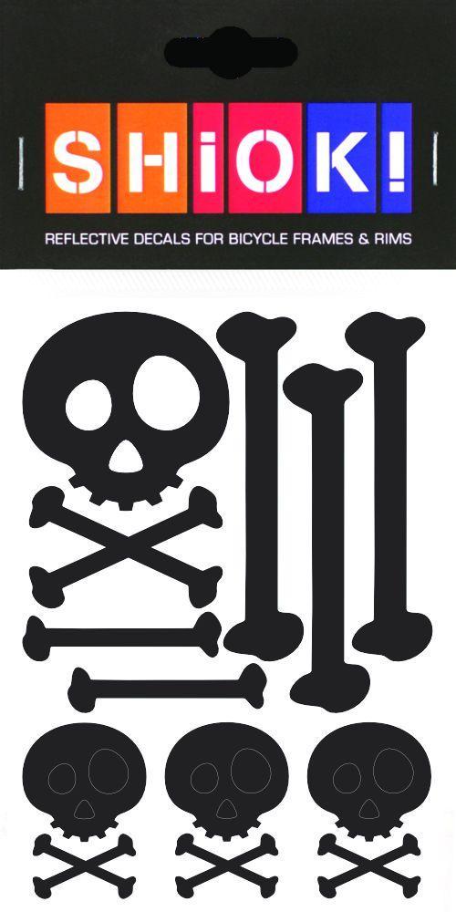 SHIOK! Reflektor-Folienset Skull&Bones