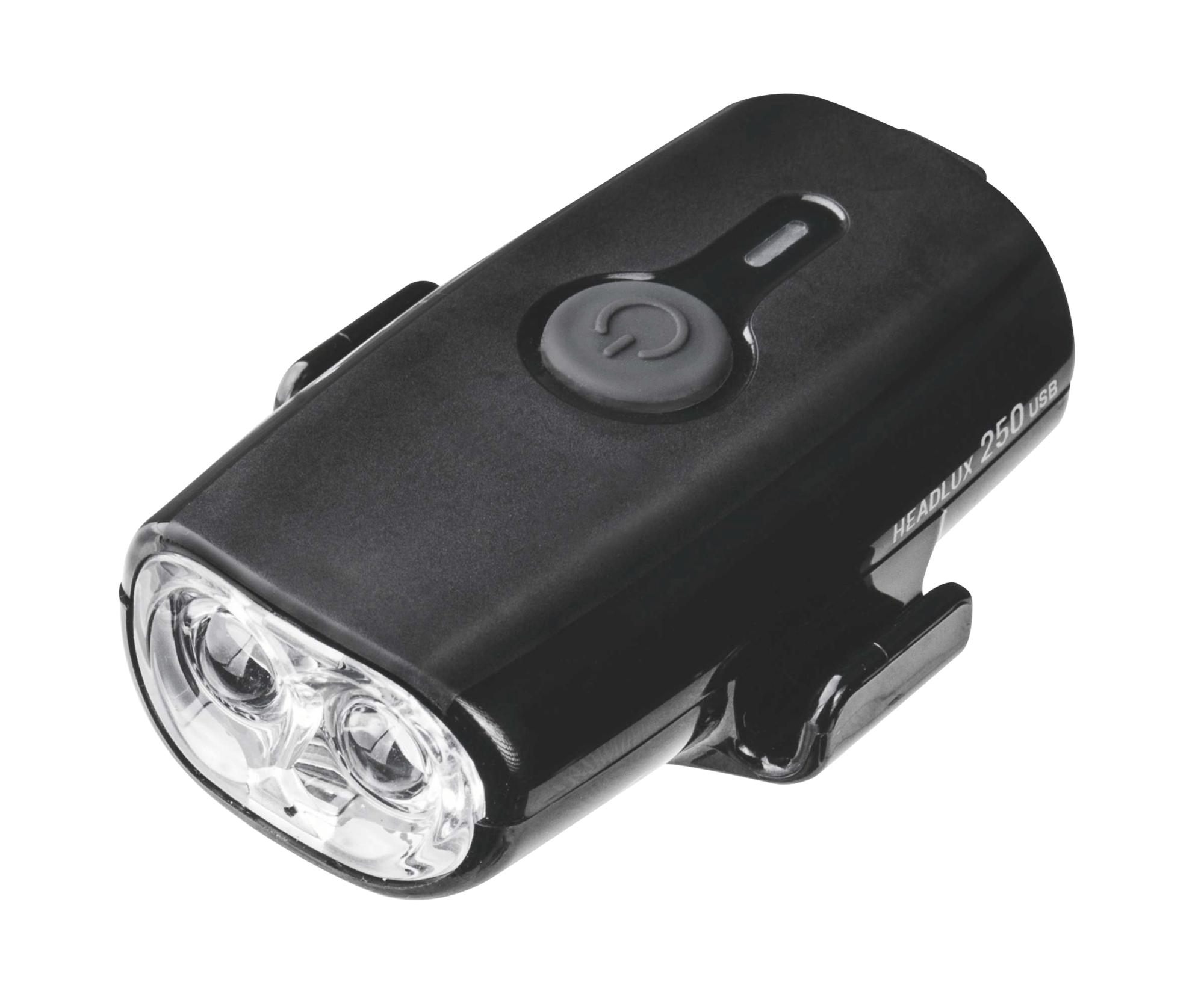 Topeak HeadLux 250 USB Scheinwerfer