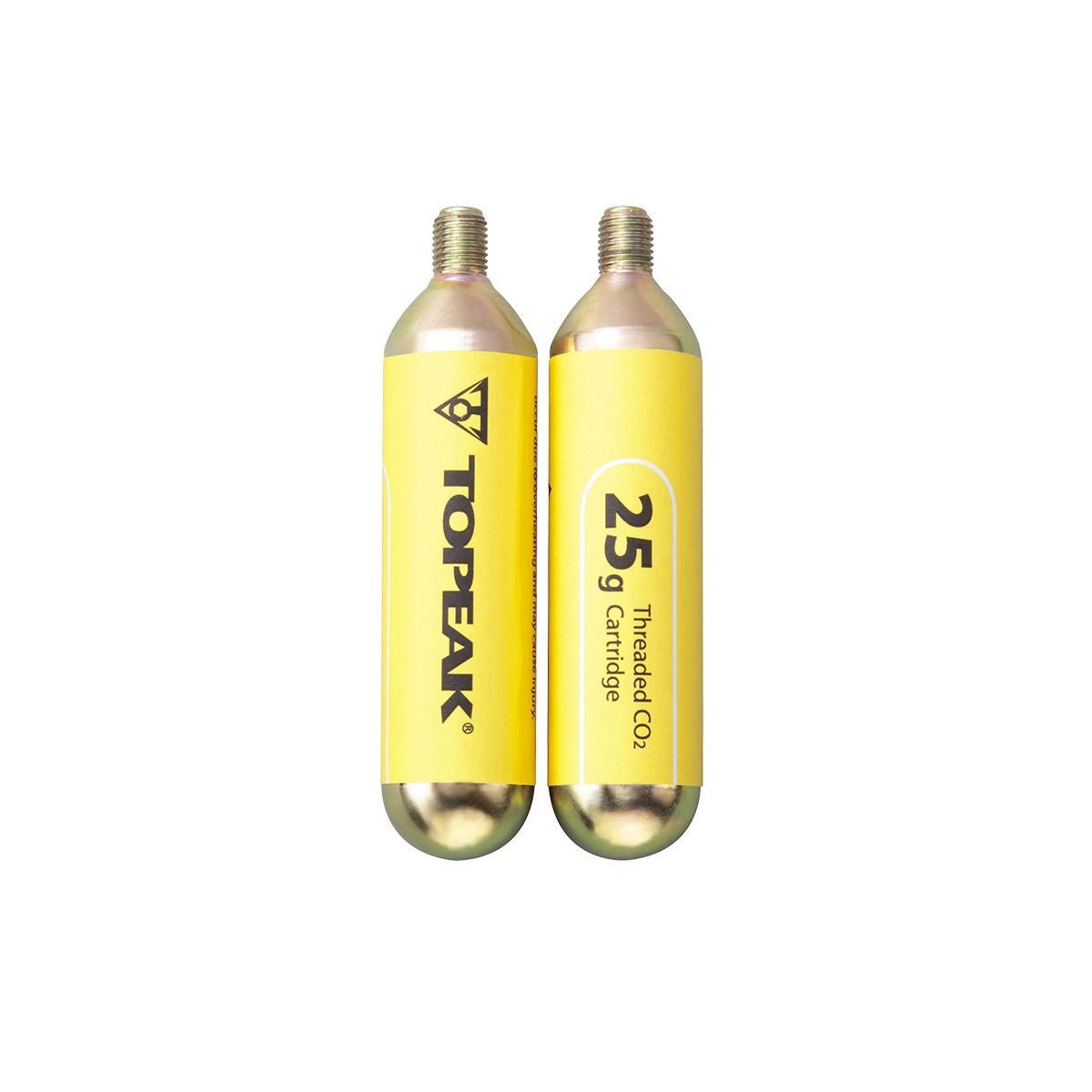 Topeak CO2 Kartuschen 25gr mit Gewinde