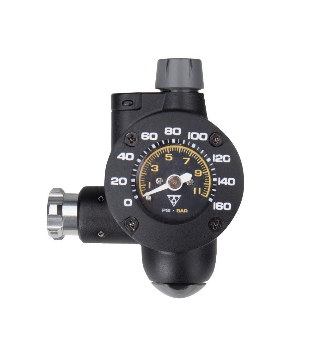 Topeak Airbooster_G2 CO2-Pumpe/Druckmessgerät