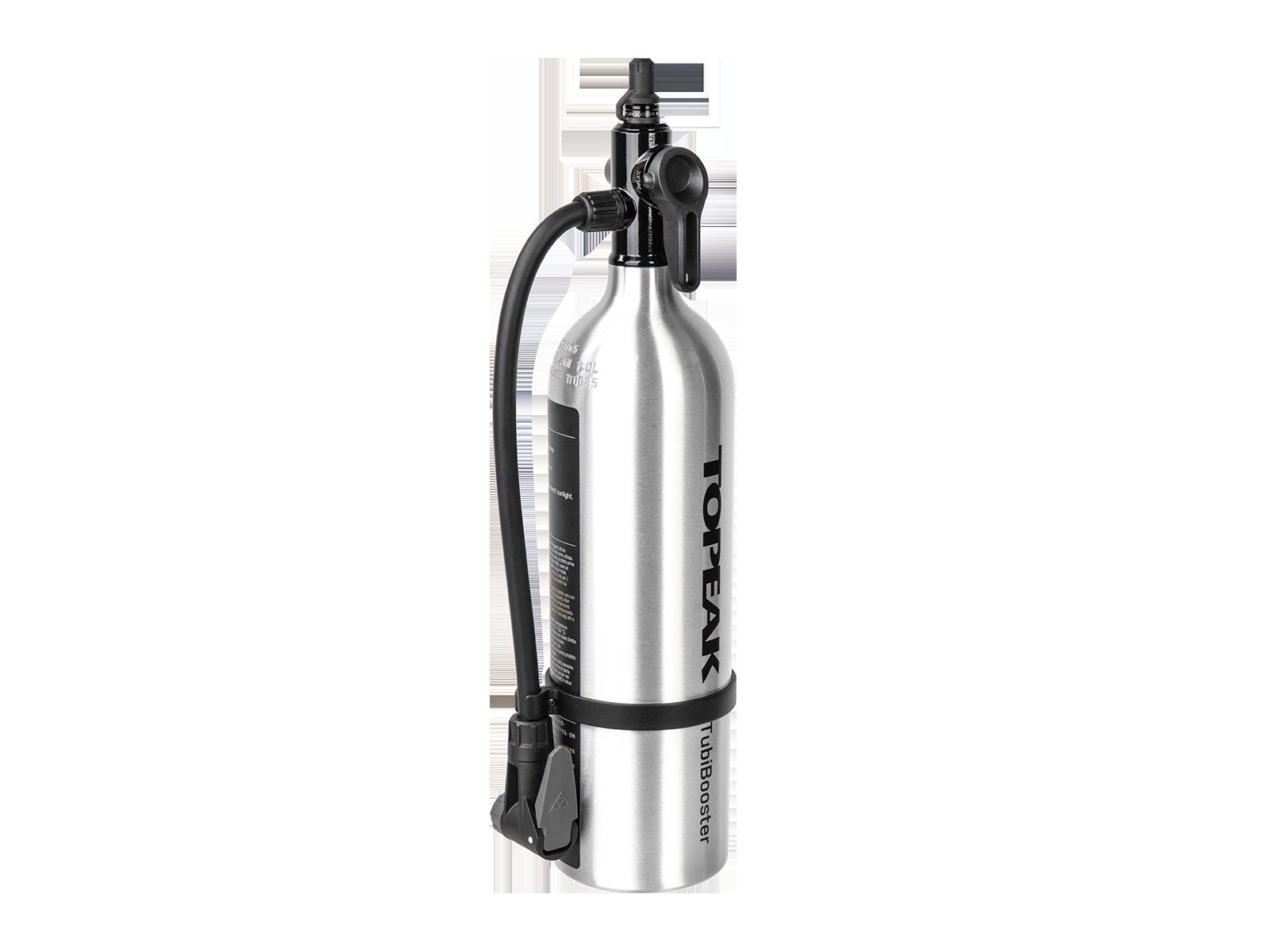Topeak TubiBooster X Drucklufttank für Tubelessreifen