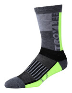 Troy Lee Designs Performance Crew Socken Block Flo Yellow