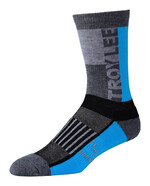 Troy Lee Designs Performance Crew Socken Block Ocean