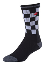 Troy Lee Designs Checker Crew Socken Schwarz