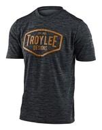 Troy Lee Designs Flowline Herren Trikot schwarz/gelb