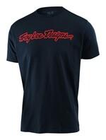 Troy Lee Designs Signature Herren T-Shirt navy