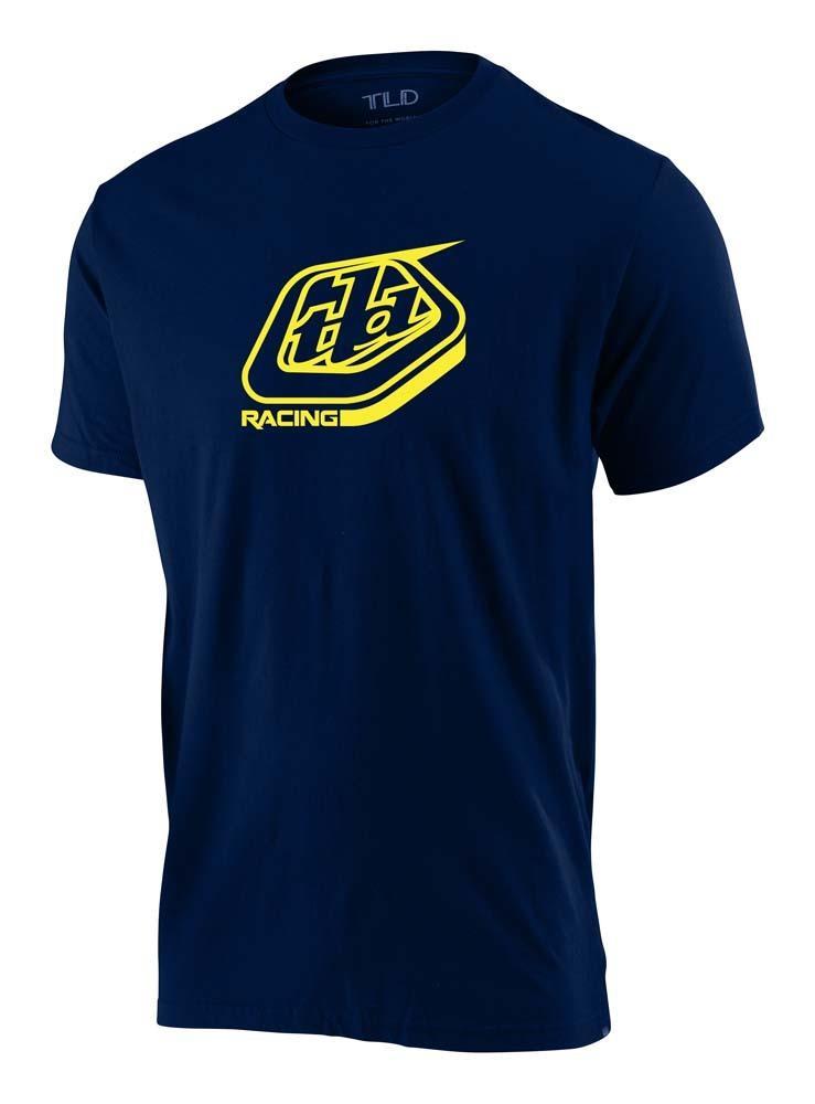 Troy Lee Designs Racing Shield Herren T-Shirt navy