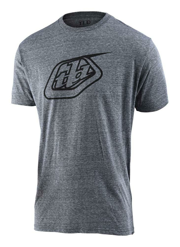 Troy Lee Designs Logo Herren T-Shirt grau