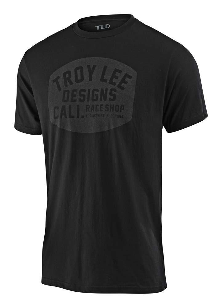 Troy Lee Designs Blockworks Herren T-Shirt schwarz