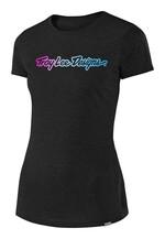 Troy Lee Designs Signature Damen T-Shirt schwarz
