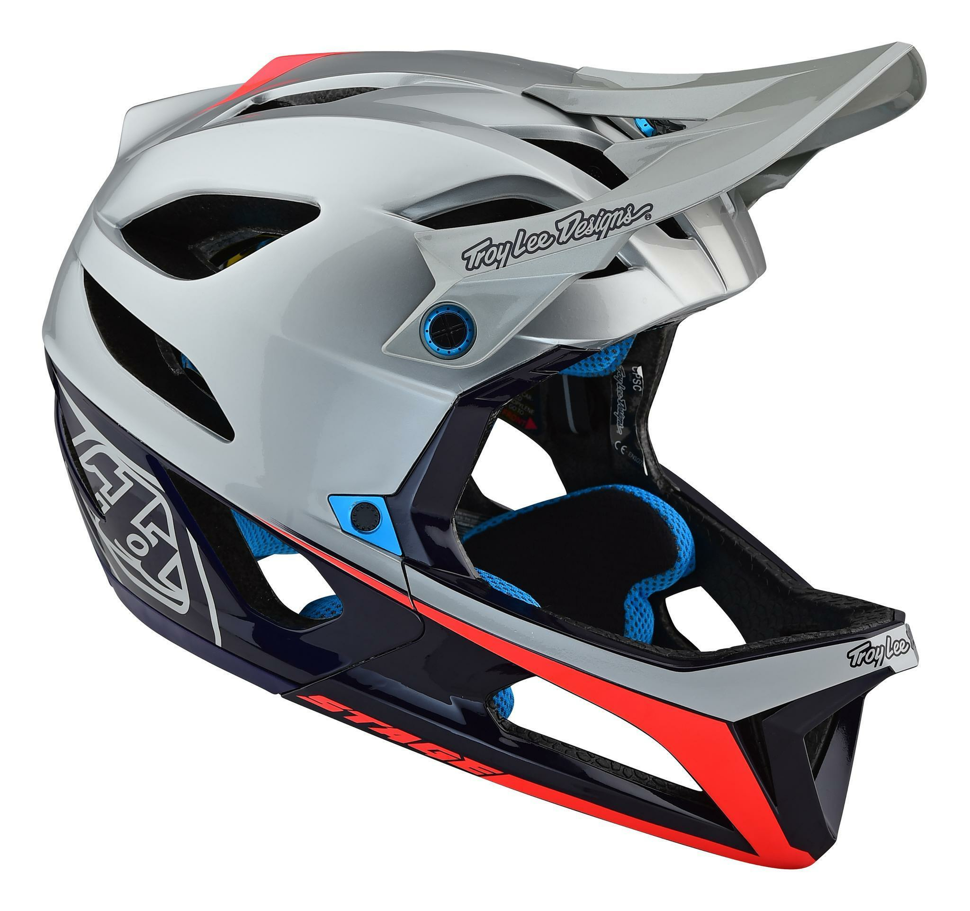Troy Lee Designs Stage Race Enduro-Helm