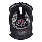 Troy Lee Designs Innenpolster D3 Helm schwarz