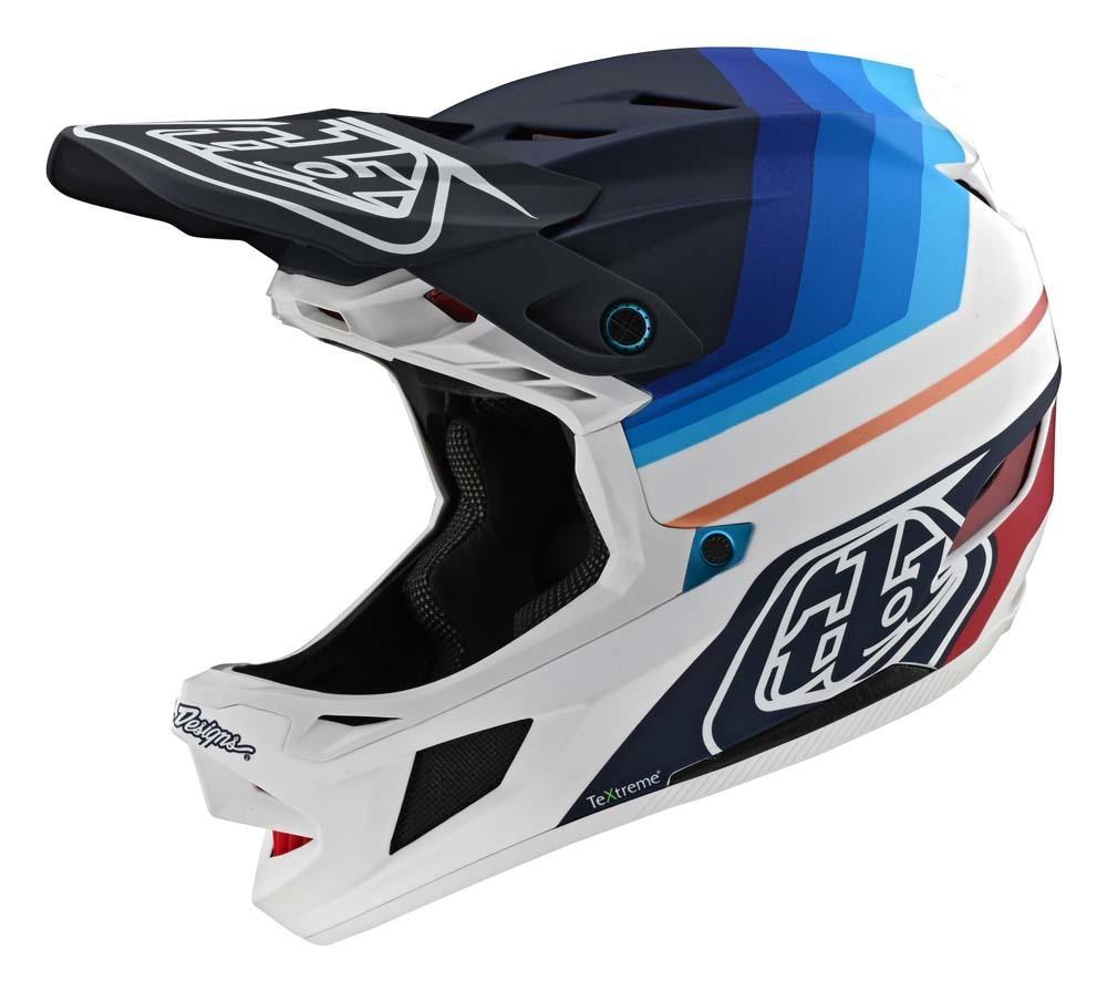 Troy Lee Designs D4 Carbon Fullface Helm navy