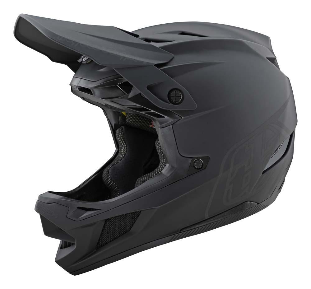 Troy Lee Designs D4 Composite Fullface Helm schwarz