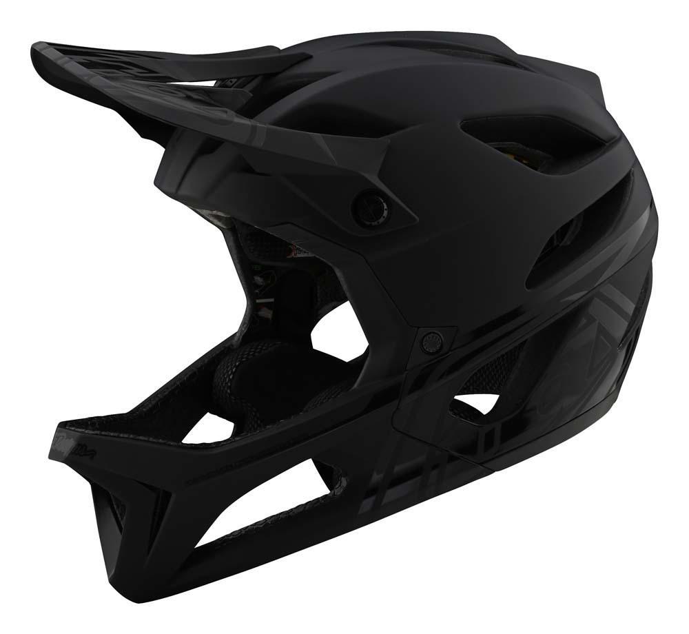 Troy Lee Designs Stage All Mountain Fullface Helm schwarz
