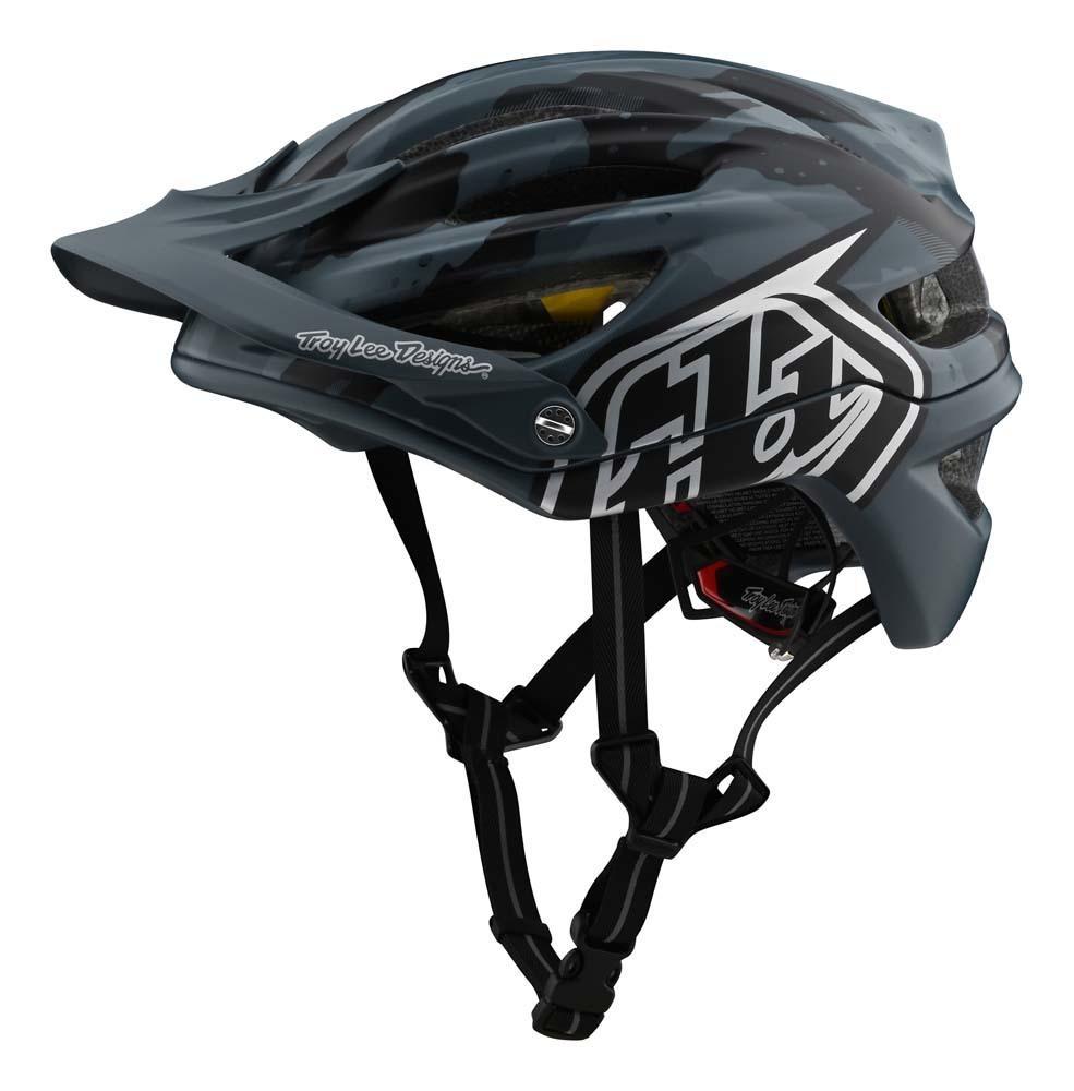 Troy Lee Designs A2 Mountainbike Helm dunkelblau