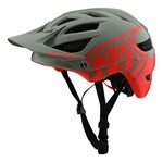 Troy Lee Designs A1 MIPS All Mountain Helm grau/orange