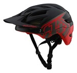 Troy Lee Designs A1 MIPS All Mountain Helm schwarz/rot