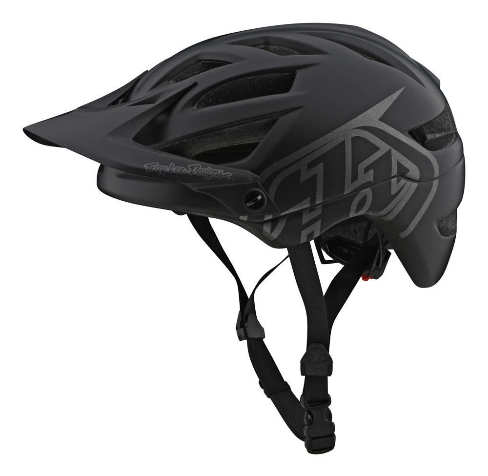 Troy Lee Designs A1 All Mountain Helm schwarz/grau