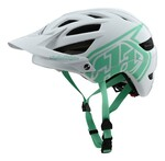 Troy Lee Designs A1 All Mountain Helm weiss/aqua