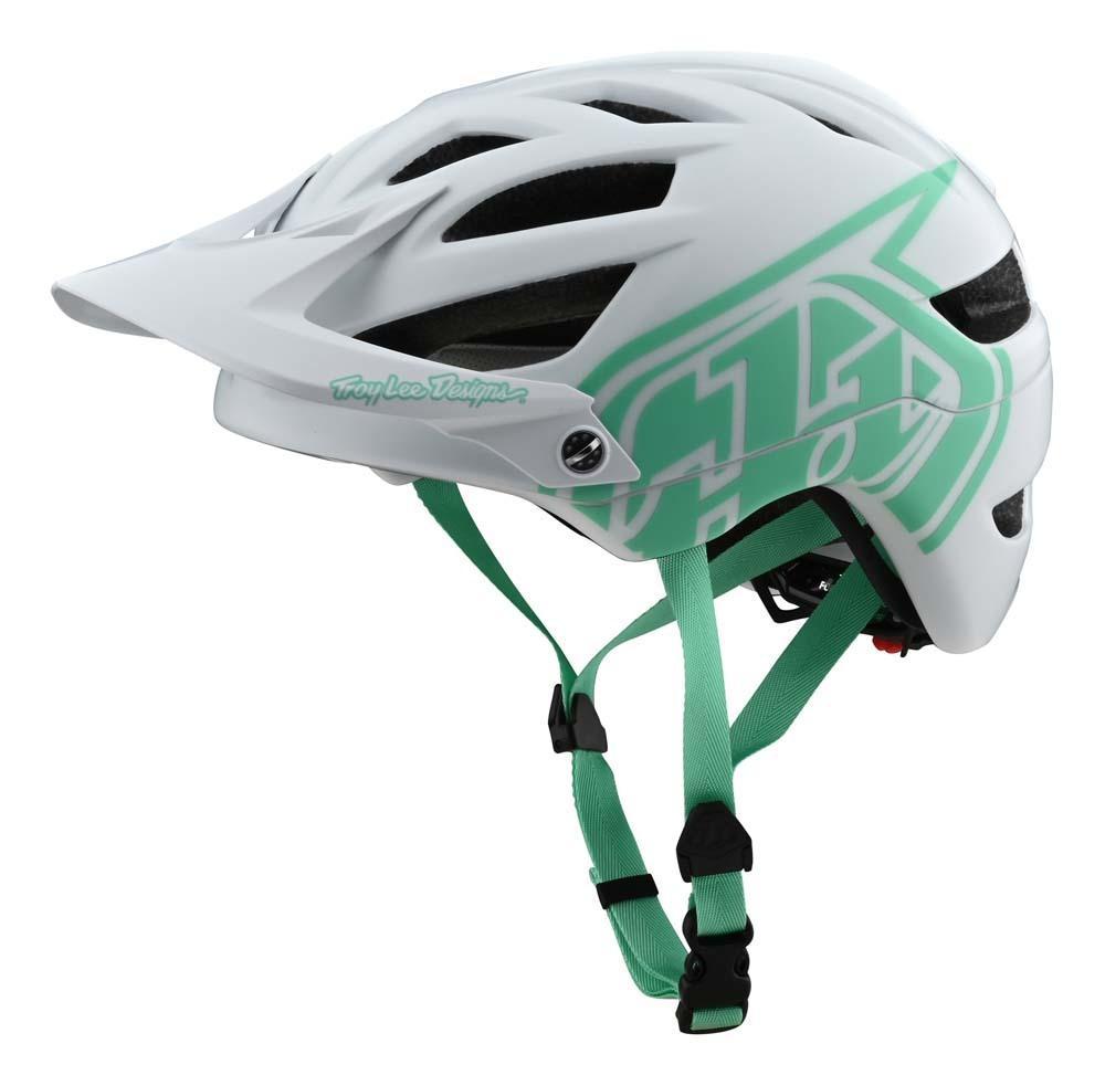 Troy Lee Designs A1 All Mountain Helm weiss/aqua