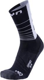 UYN Support Herren Fahrrad-Socke, black/white
