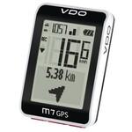 VDO Fahrradcomputer M7 GPS weiss-schwarz