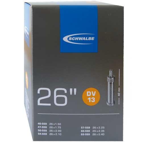 Schwalbe Schlauch 26'' No.13 (DV13) 25 Stück für Schlauchautomaten geblistert